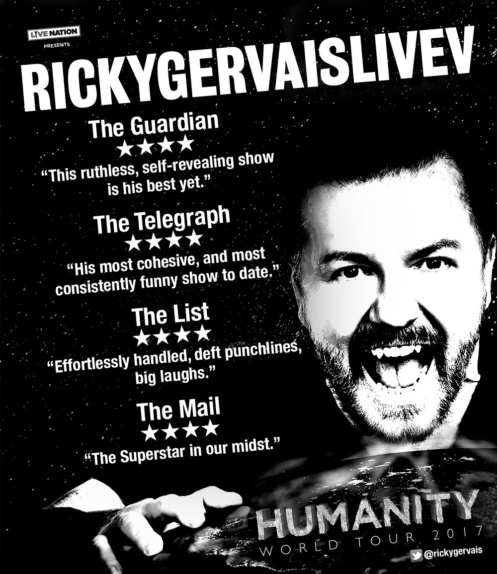 Ricky Gervaiscom The Website Of Ricky Gervais Obviously - Seeing 23 hilarious street posters will make day